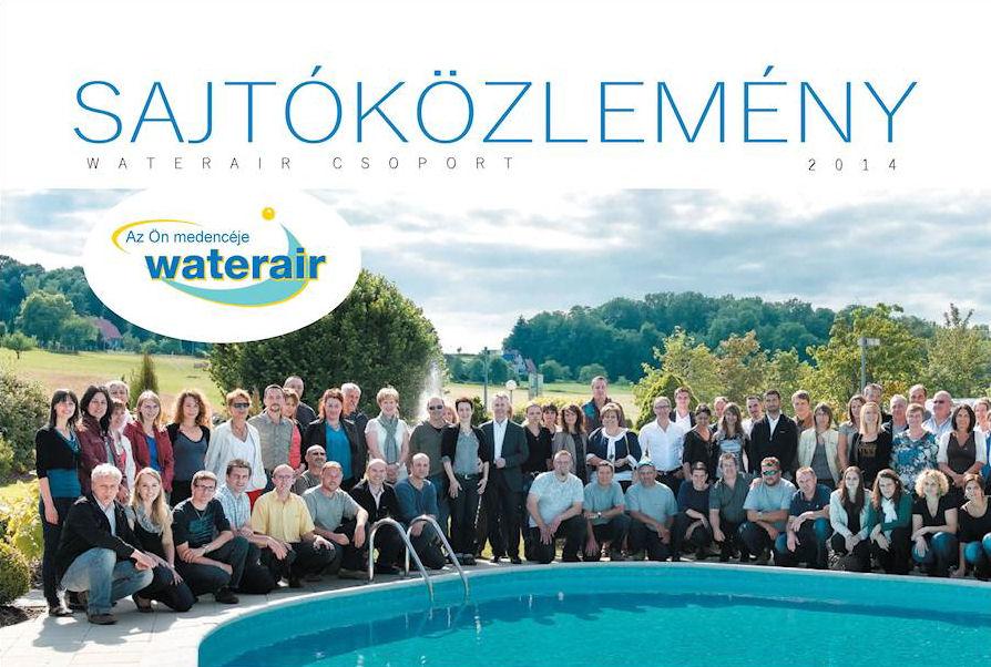 A Waterair csapat Seppois-Le-Basban