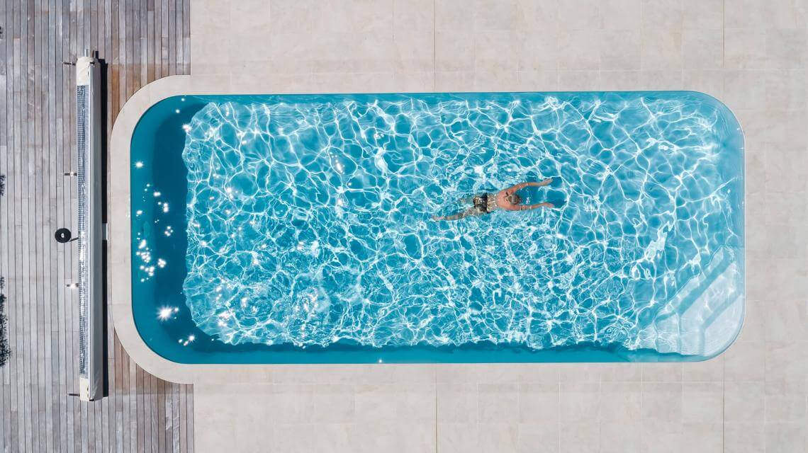 A Nap energiájával fűtött környezetbarát medence